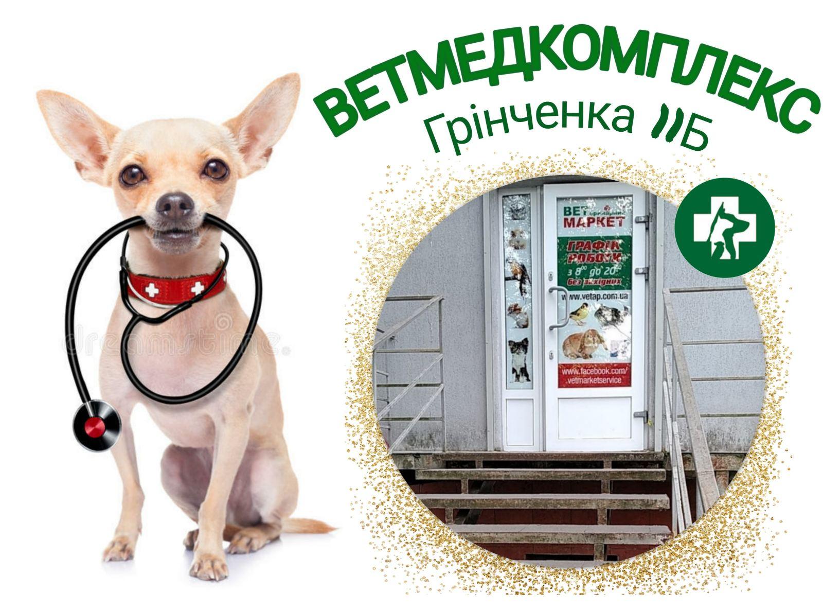 ветеринарни кабінет Грінченка